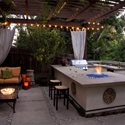 Outdoor Kitchen Fire Pit Stout Design Build Los Angeles, CA