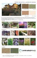 Landscape Design Sheet Landscaping Network Calimesa, CA