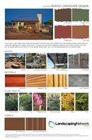 Rustic Landscape Design Pdf
