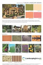 Tuscan Landscape Style Guide