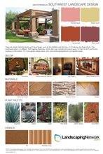 Southwest Landscape Design Style Sheet