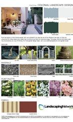 Colonial Landscape Design Style Sheet