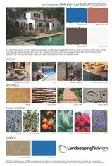 Spanish, Landscape, Design