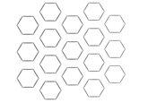 Open Porous Hexagonal Cell Landscaping Network Calimesa, CA