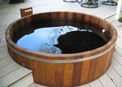 Conventional Deck Maine Cedar Hot Tubs ,