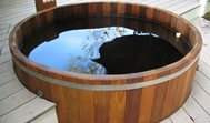 Conventional Deck Maine Cedar Hot Tubs