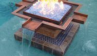 Fire And Water Feature Scottsdale Water Designs Scottsdale, AZ
