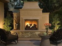 Precast Outdoor Fireplace