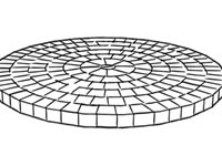 Paver Pattern, Circular Landscaping Network Calimesa, CA