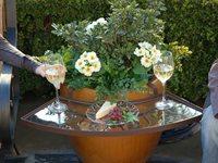 Garden Pot Table Attachment