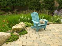 Paver Patio, Adirondack, Boulders, Retaining Paver Romani Landscape Architecture Glencoe, IL