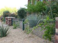 Freestanding Trellis Fence