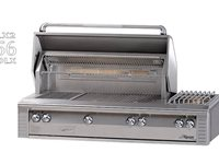 Deluxe Stainless Steel Built-In Grill