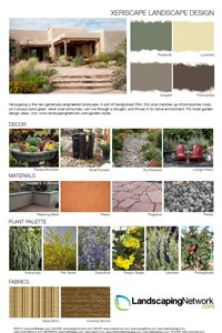 Xeriscape Landscape Design Sheet Landscaping Network Calimesa Ca