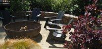 Rustic Fire Pit, Cauldron Fire Pit