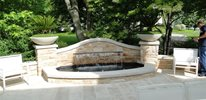Relaxing Patio Fountain