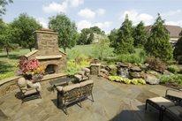 Stone Fireplace, Stone Patio