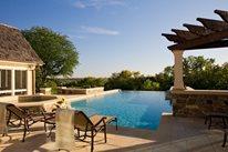 Infinity Pool, Custom Pool Swimming Pool Barkley Landscapes & Design Group Minneapolis, MN