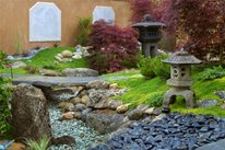 Asian Landscaping Grace Design Associates Santa Barbara, CA