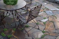 Brown Flagstone, Flagstone Patio Backyard Landscaping Lifestyle Landscapes Seattle, WA