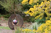 Mendocino Botanical, Garden Art Decor and Accessory Genevieve Schmidt Landscape Design and Fine Maintenance Arcata, CA