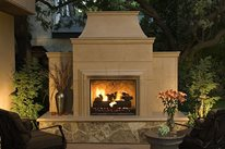 Outdoor Fireplace Designs by Garry Mission Viejo, CA