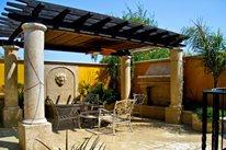 Pergola Columns, Mediterranean Pergola, Patio Pergola Pergola and Patio Cover LandPlan's Landscaping Pleasanton, CA