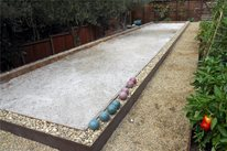 Bocce Ball Court Huettl Landscape Architecture Walnut Creek, CA