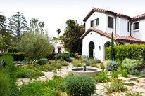 Drought Resistant Front Garden Joseph Marek Landscape Architecture Santa Monica, CA