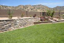 Manufactured Retaining Wall, Desert Grass WaterQuest, Inc. Albuquerque, NM