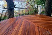 Tigerwood Deck, Tropical Decking Advantage Lumber Buffalo, NY