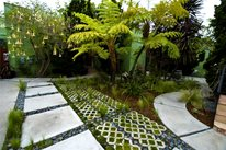 Grasscrete Paving Tropical Landscaping Landscaping Network Calimesa, CA