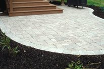 Small Paver Patio Lehigh Lawn & Landscaping Poughkeepsie, NY