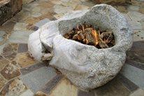 Boulder Fire Pit Sones Landscape Architecture Group Avon, CO