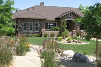 Drought Tolerant Planting Beds Front Yard Landscaping Reno Green Landscaping Reno, NV