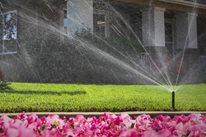Sprinkler, Overspray Hunter Industries San Marcos, CA