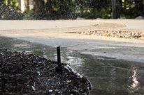 Sprinkler Overspray Landscaping Network Calimesa, CA