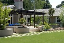 Backyard, Lawn, Installation Aesthetic Gardens Mountain View, CA