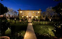 Front Yard Lighting, Landscape Lighting Lighting Studio H Landscape Architecture Newport Beach, CA