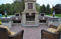 Outdoor Fireplace Kit Outdoor Fireplace Kit Cost