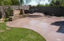 Decorative Concrete Patio Cost
