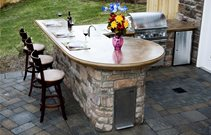 Large Outdoor Kitchen Cost