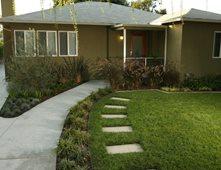 Contemporary Ranch Front Yard LandscapeFront Yard LandscapingLisa Cox Landscape DesignSolvang, CA