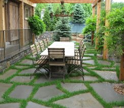 Backyard Landscaping Classic Masonry Ltd. Putnam Valley, NY