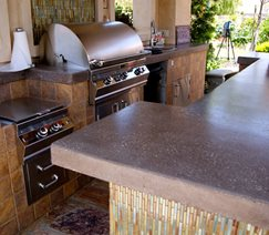 Outdoor Kitchen Backyard Landscaping Landscaping Network Calimesa, CA
