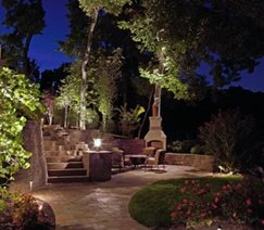 Outdoor Living, Lighting Backyard Landscaping McKay Landscape Lighting Omaha, NE