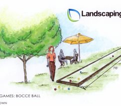 Bocceball Drawing
