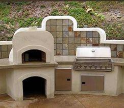 desert outdoor kitchen