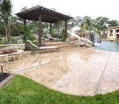 Concrete Pool Deck Landscaping Network Calimesa, CA