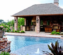 Pool Deck Angelo's Lawn-Scape Of Louisiana Inc Baton Rouge, LA